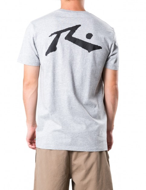 Rusty Competition Short Sleeve T-Shirt in Grey Marle