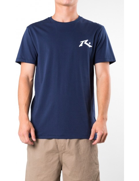 Rusty Competition Short Sleeve T-Shirt in Navy Blue