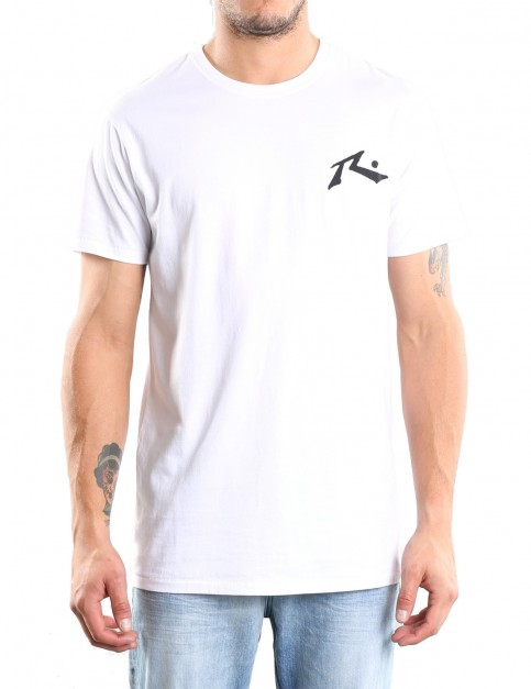 Rusty Competition Short Sleeve T-Shirt in White