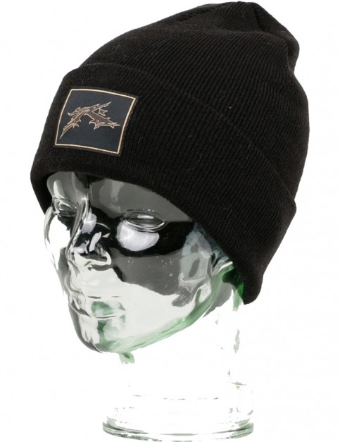 Rusty Gothic R 2 Beanie in Black