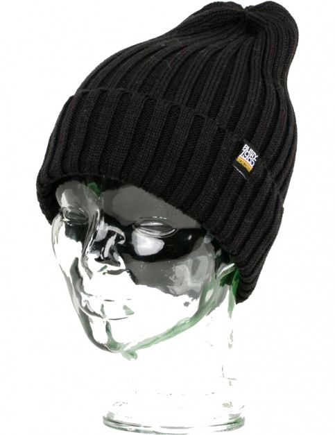 Rusty Roma Beanie in Black