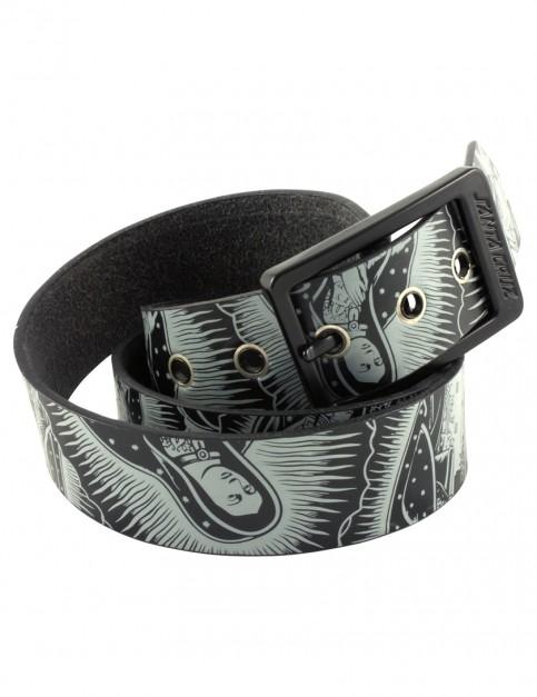 Black Santa Cruz Guadalupe Faux Leather Belt