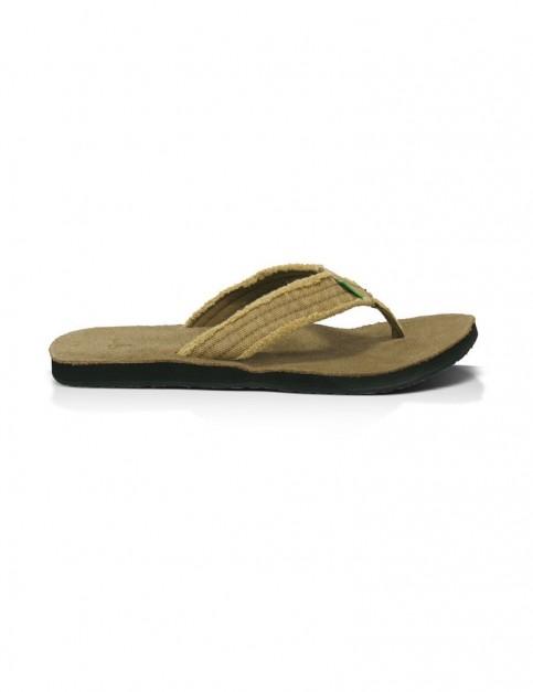 Sanuk Fraid Not Sports Sandals in Khaki