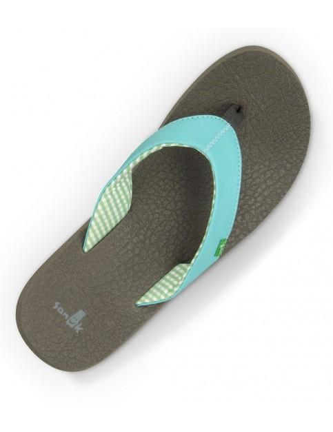Aqua Sanuk Yoga Mat Flip Flops