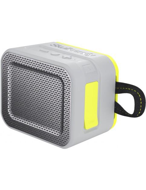 Grey/Charcoal/Hot Lime Skullcandy Barricade Bluetooth Speaker