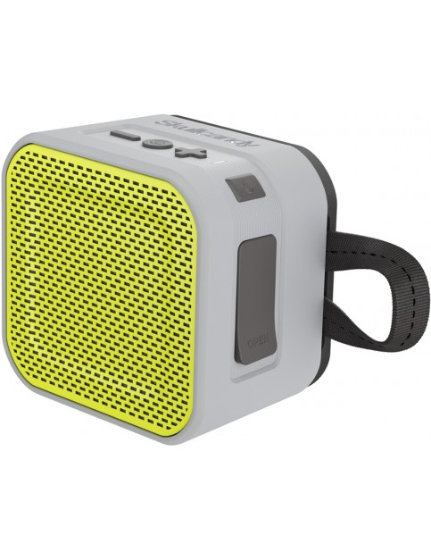 Skullcandy Barricade Mini Bluetooth Other in Grey/Charcoal/Hot Lime