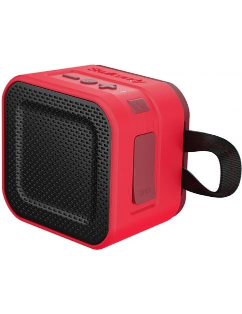 Red/Dark Red/Tan Skullcandy Barricade Mini Bluetooth Speaker