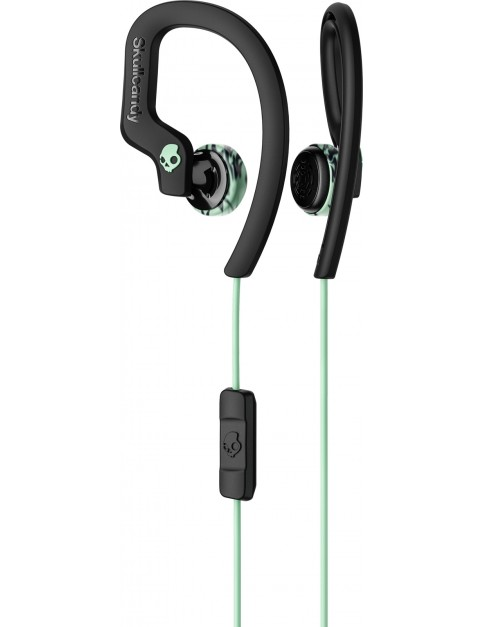 Skullcandy Chops Flex Headphones in Black/Mint/Swirl