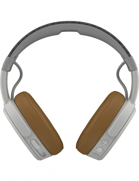 Skullcandy Crusher 3.0 Wireless Over Headphones in Gray/Tan/Gray