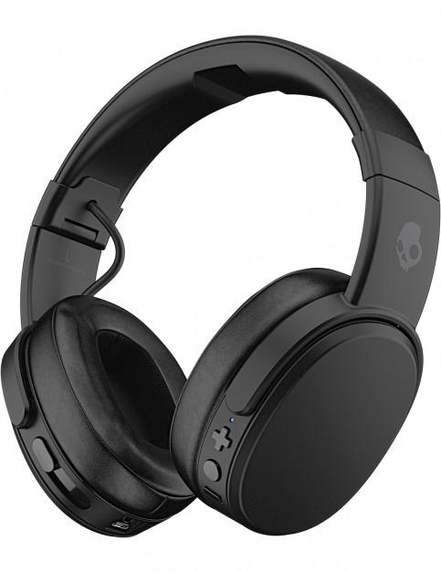 Skullcandy Crusher Wireless Over Ear Headphones in Black/Coral/Black