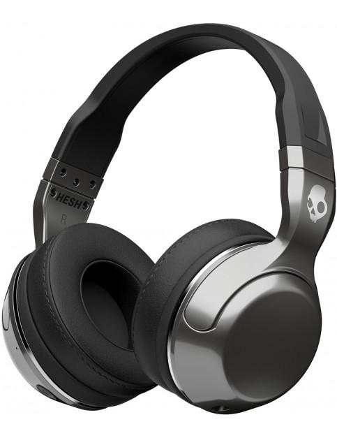 Skullcandy Hesh 2 Wireless Headphones in Silver/Black/Chrome