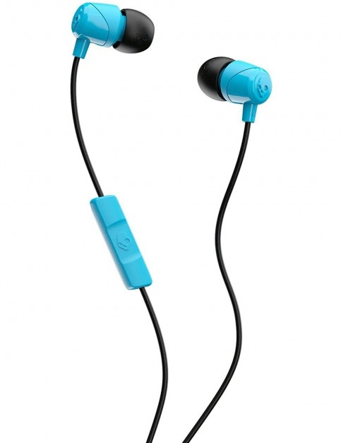 Skullcandy JIB w/mic Earbud Headphones in Blue/Black/Blue