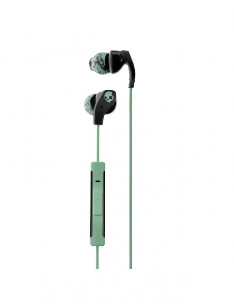 Skullcandy Method In-Ear Sport Headphones in Black/Mint/Swirl