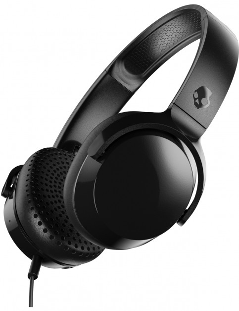 Skullcandy Riff On Ear Headphones in Black/Black/Black