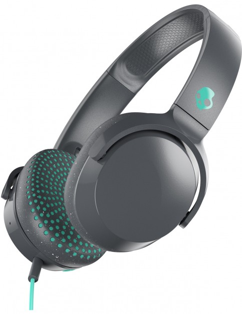 Skullcandy Riff On Ear Headphones in Grey/Speckle/Miami