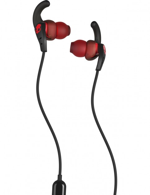 Skullcandy Set In-Ear w/mic Headphones in Black/Speckle/Red