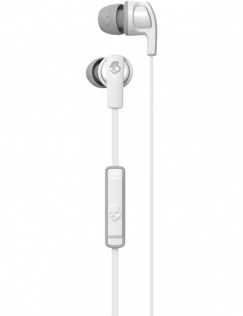 Skullcandy Smokin Bud 2 Headphones in White/White/Gray