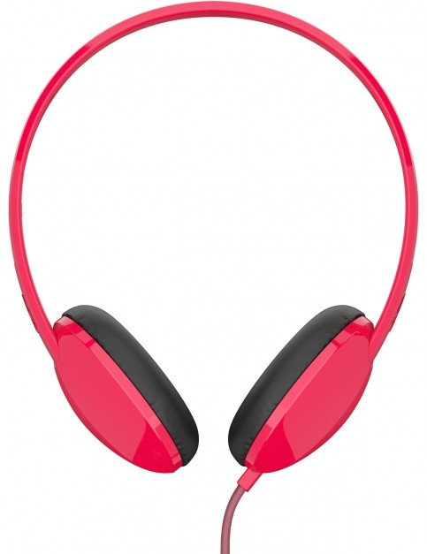 Skullcandy Stim On-Ear Headphone Headphones in Red/Burgundy/Red