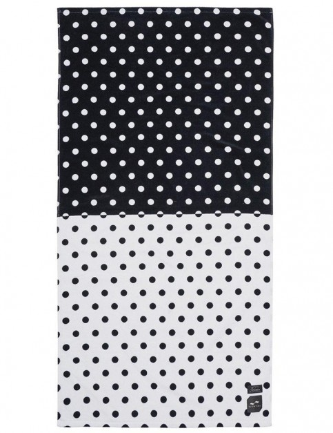 Slowtide Atlas Beach Towel in Black