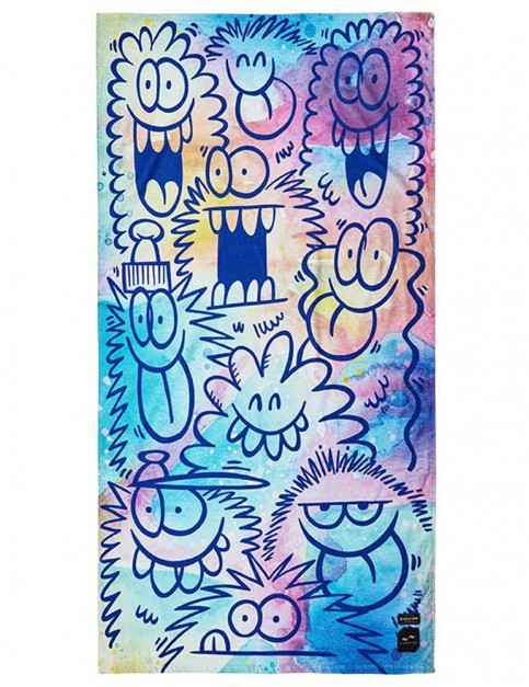 Slowtide Beach Brigade Beach Towel in Multi