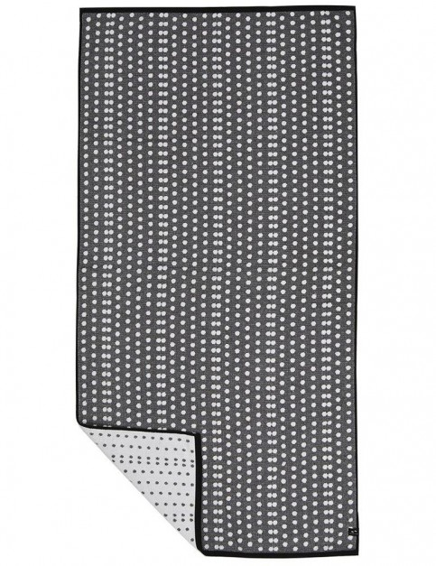Slowtide Davidson Beach Towel in Charcoal