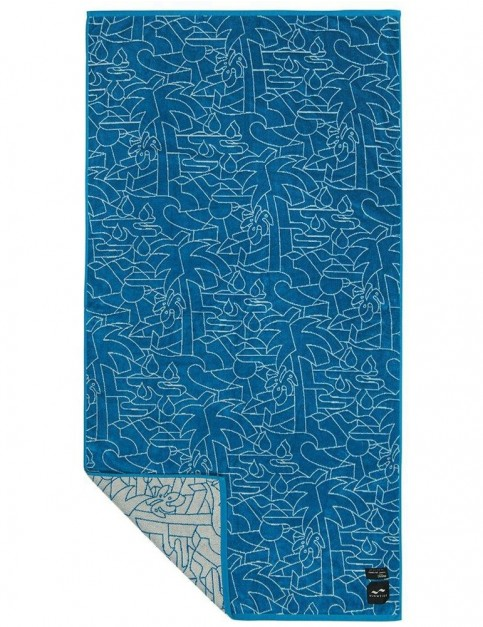 Slowtide Gatherer Beach Towel in Washed Navy