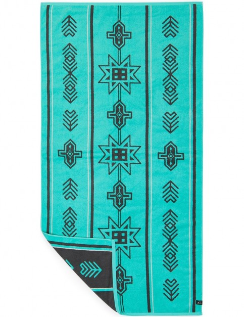 Slowtide Mission Beach Towel in Turquoise