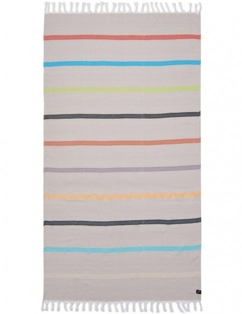 Slowtide Prism Beach Towel in Off White