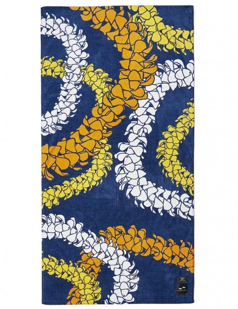 Slowtide Pua Beach Towel in Navy