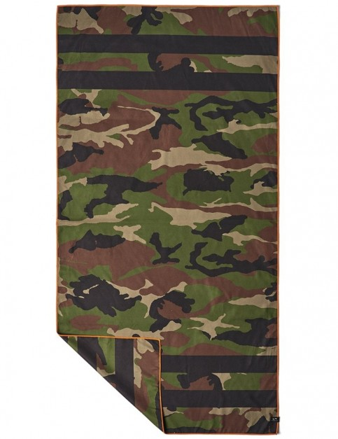 Slowtide Regime Travel Towel Beach Towel in Army