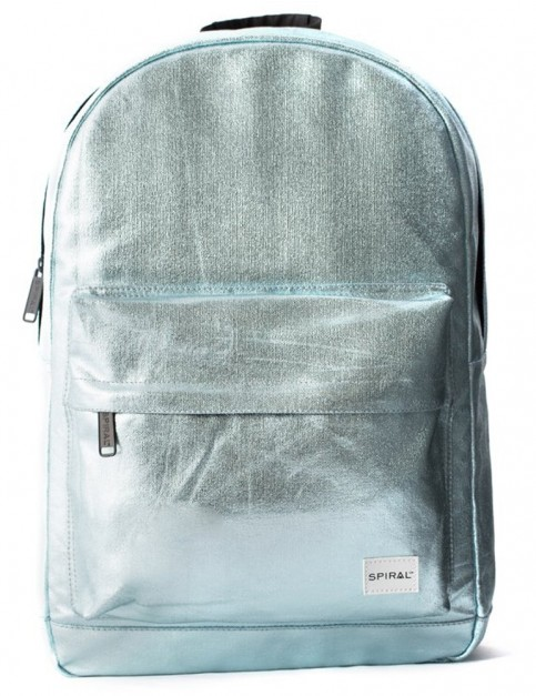Spiral Aqua Rave Backpack in Aqua