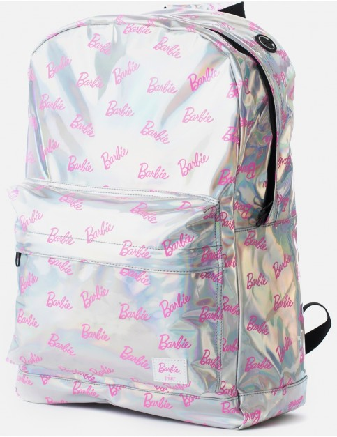 Spiral Barbie Backpack in Silver Rave