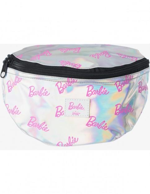 Spiral Barbie Bum Bag in Silver Rave
