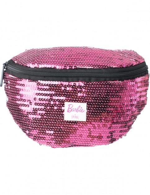 Spiral Barbie Disco Sequin Bum Bag in Pink