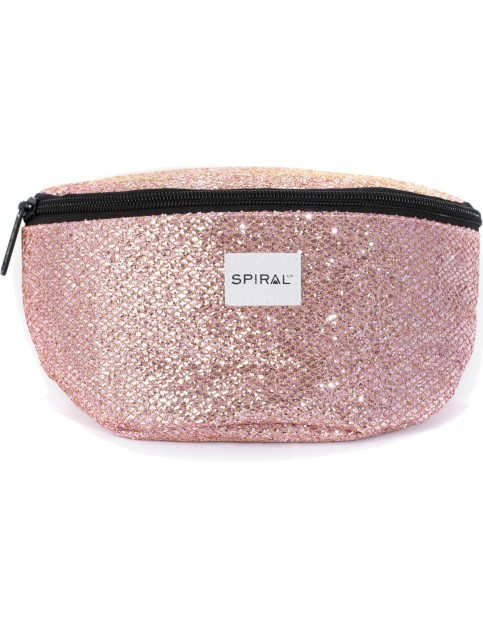 Spiral Bellini Glamour Bum Bag in Pink