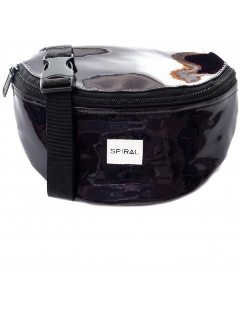Spiral Black Rave Bum Bag