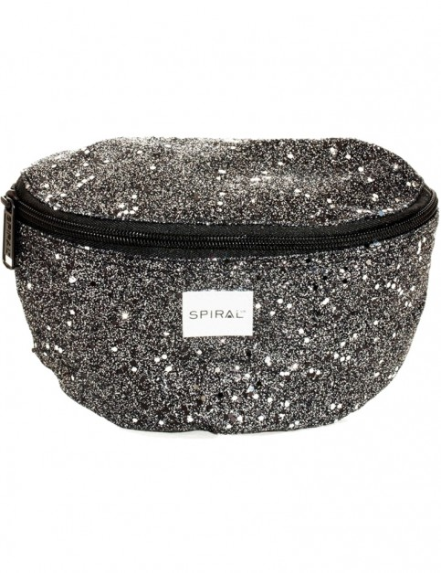 Spiral Black Stardust Bum Bag