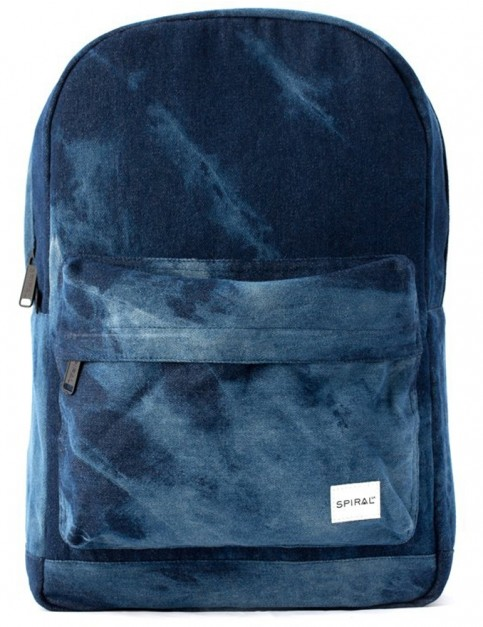 Spiral Bleached Denim OG Backpack in Bleached Denim