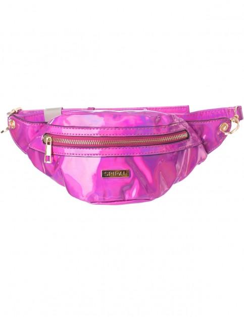 Spiral Bubblegum Bum Bag in Pink
