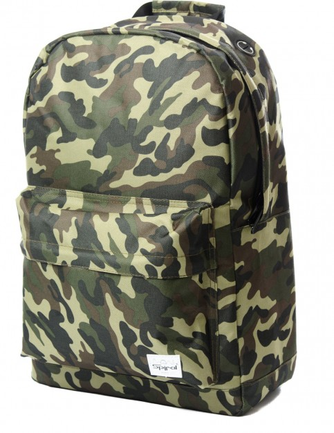 Spiral Camo Backpack in Jungle