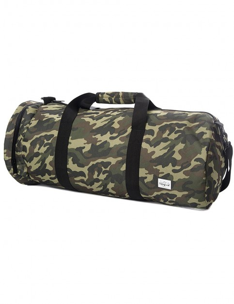 Spiral Camo Jungle Duffle Holdall in Green