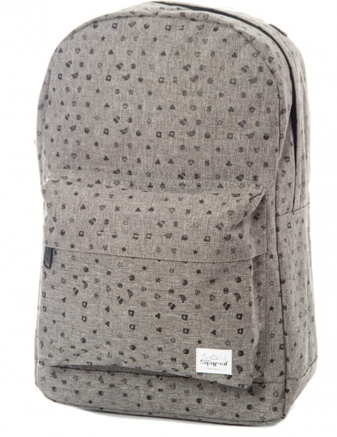 Spiral Casino Backpack in Crosshatch