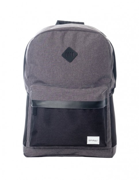 Spiral Charcoal Mesh Sp Backpack Backpack in Black