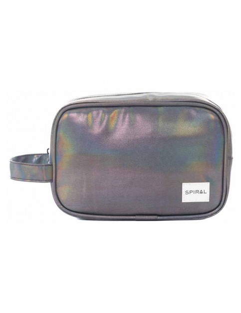 Spiral Chrome Rave Wash Bag