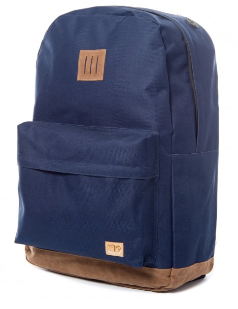 Navy Spiral Classic Backpack