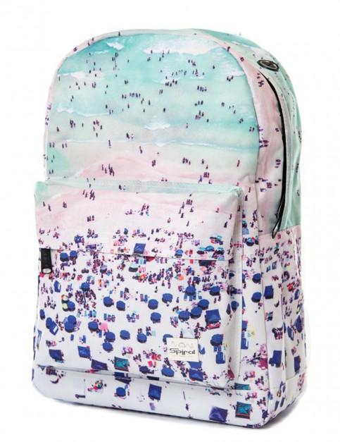 Spiral Coastal Backpack in Aqua