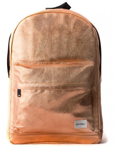 Spiral Copper Rave Backpack in Copper