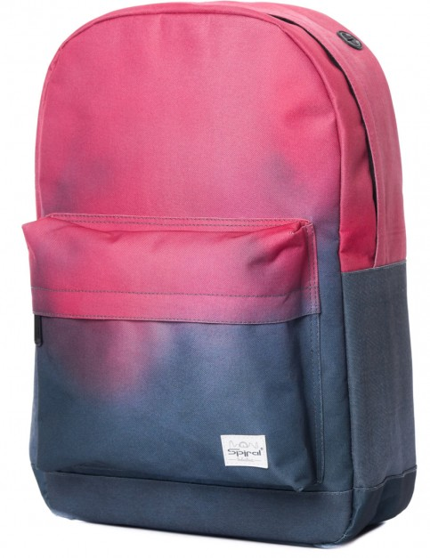 Spiral Coral Backpack in Charcoal Fade