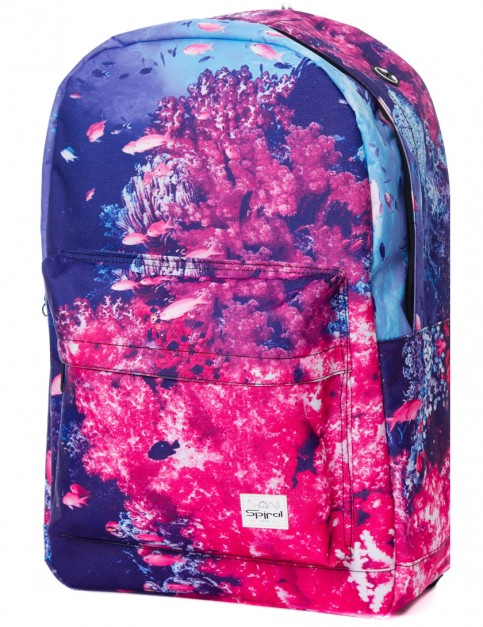Spiral Coral Reef Backpack in Pink
