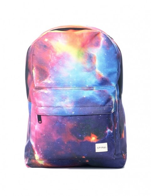 Spiral Cosmic Galaxy Backpack Backpack in Cosmic Galaxy